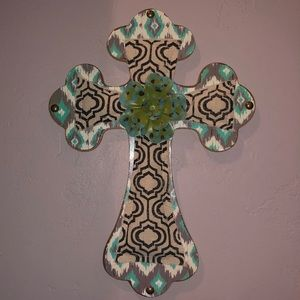 Home Decor: Pattern Wood Cross